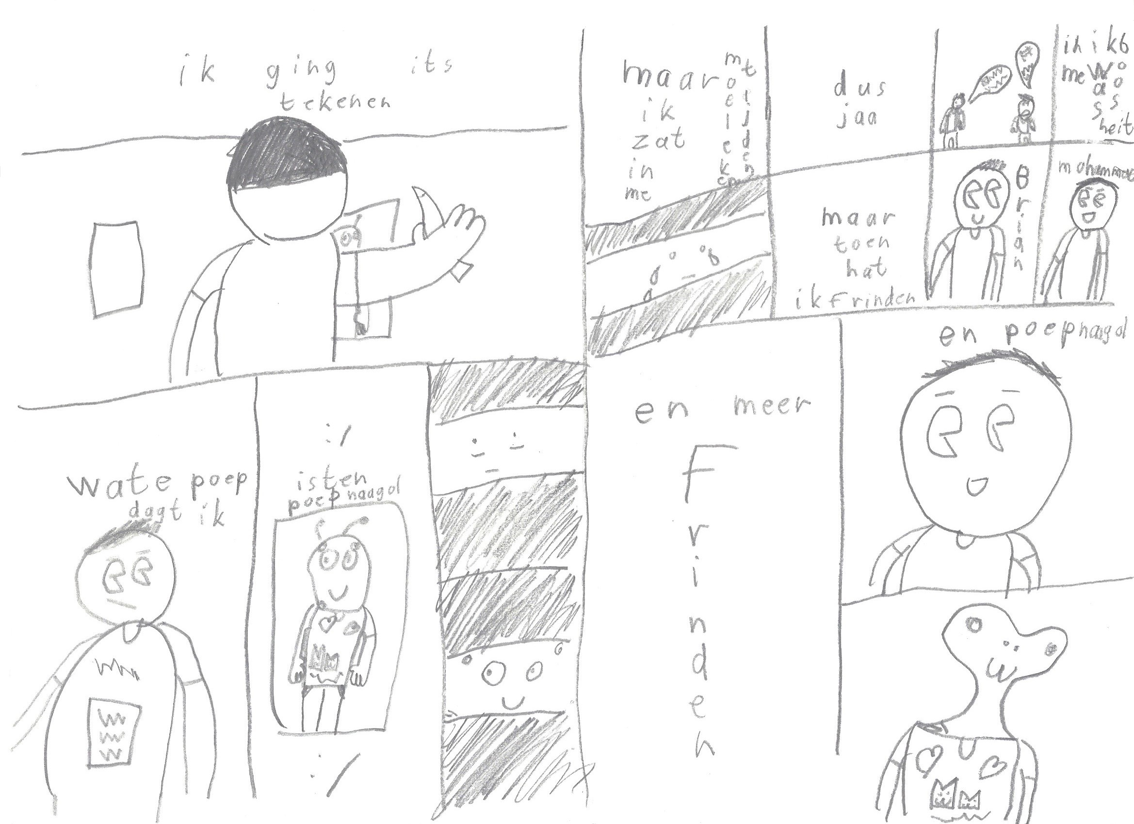 Poepnaagol 19 pagina 2-3